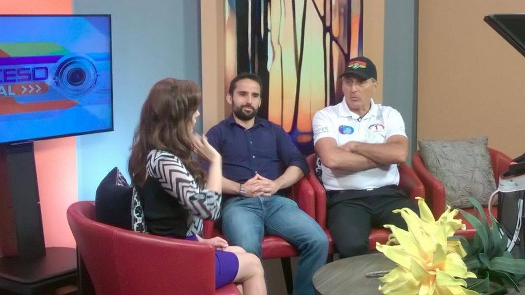 Carlos Bortoni and Jorge Mendoza interviewed by Mayra Galvan