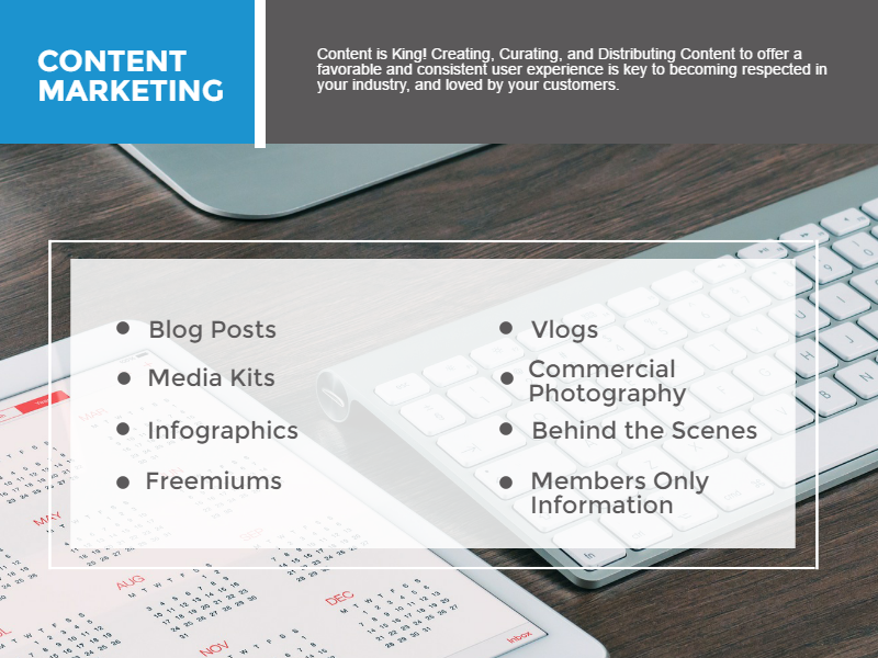 Web Strategy - Content Marketing